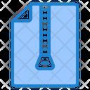 Zip File Zip File Icon