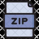 Zip File Zip Format Icon