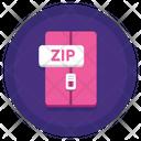 Zip File File Document Icon
