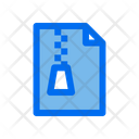 Zip File Zip Document File Icon