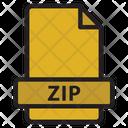 Zip Archive Bundle Icon