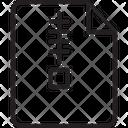Compressed Data File Zip File Icon