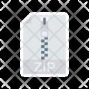 Zip File Doc Icon