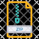 File Zip Document Icon