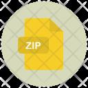 Zip Archive File Icon
