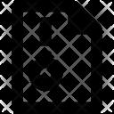 Zip File Archive Icon