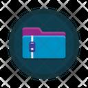 Zip Files Icon