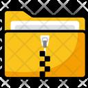 Compressed Folder Zip Folder Zipped Folder Icon