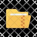 Zip Folder Archive Icon