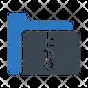 Zipfolder Archive Compress Icon