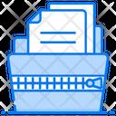 Zip Folder Compressed Folder Zipped Folder Icon