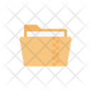 Zip Folder Compressed Icon