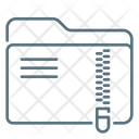 Zip Folder Folder Zip Icon