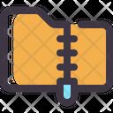 Zip Rar Data Icon