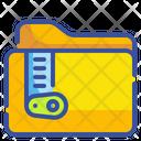 Zip Folder Zip Files Zip Icon