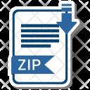 Zip format Icon