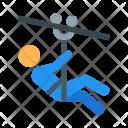 Zip-line Icon