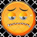 Zip Mouth Emoji Icon