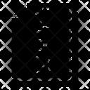Zipped Document Icon