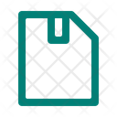 Zipped File Document Icon