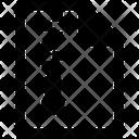 Zipped File Zip Achieve Icon