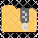 Zip Folder Compressed Folder Archives Icon