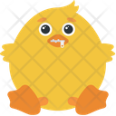 Zipped Shut Chicken Icon