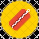 Zipper Zip Fastener Fabric Zip Icon