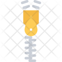 Zipper Clothes Clothing Icon