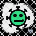 Zipper Mouth Coronavirus Emoji Coronavirus Icon