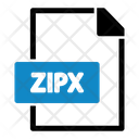 Zipx Extension File Icon