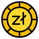 Zloty Coin Currency Icon