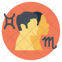 Zodiac Horoscope Couple Icon