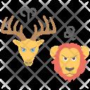 Stars Compatibility Animals Icon