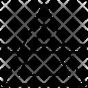 Zodiac Triangle Rune Magic Icon