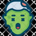 Zombie Corpse Dead Man Icon