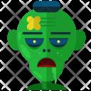 Zombie Evil Ghost Icon