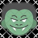 Zombie Evil Emoji Emoticon Icon