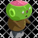 Zombie Devil Horror Icon