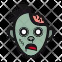 Zombie Monster Brain Icon