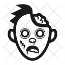 Halloween Zombie Monster Icon
