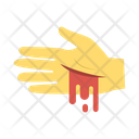 Zombie Hand Blood Icon