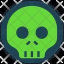 Halloween Horror Skull Icon