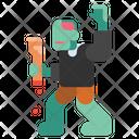 Zombie Halloween Horror Icon
