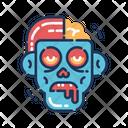Zombie Harror Scary Icon