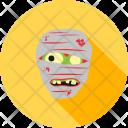 Zombie Character Halloween Icon
