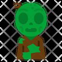 Zombie Spooky Terror Icon