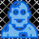 Zombie Monster Horror Icon