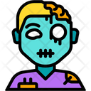 Zombie Monster Scary Icon