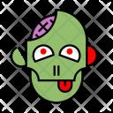 Zombie Halloween Night Icon